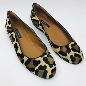 Margaux Women Flats Leopard Haircalf Leather 9